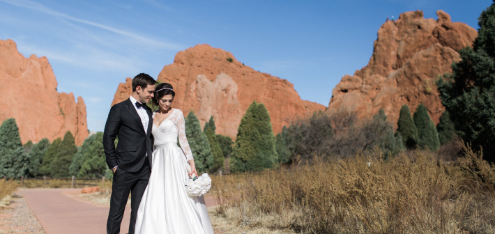 Colorado Springs Wedding : Elizabeth + Jeremy