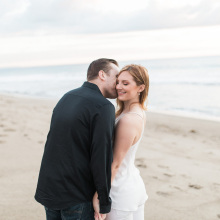 Point Dume Beach Engagement : Katie + Michael