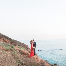 Malibu Engagement Session : Natasha + Donovan