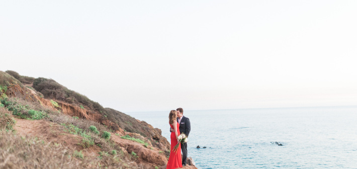 Malibu Engagement Session : Natasha + Donovan