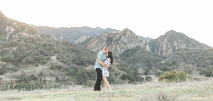 Malibu Engagement: Noelle + Matt