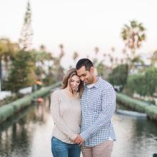 Venice Canals Engagement : Kiley + Kyle