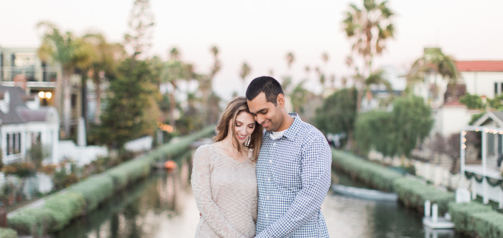 Venice Canals Engagement : Kiley + Kyle