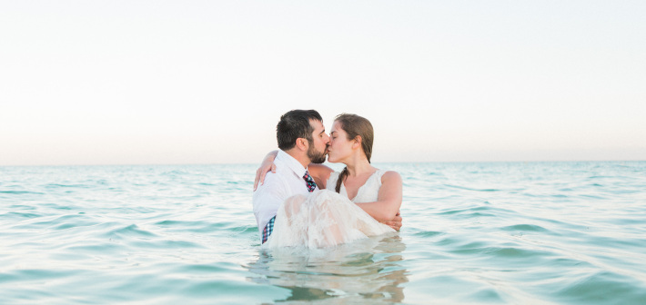 Cancun Wedding : Pam + Bryan