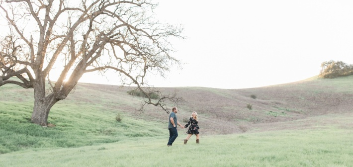 Malibu Creek Engagement Session : Chandler + Pete
